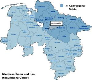 Konvergenz-Gebiet